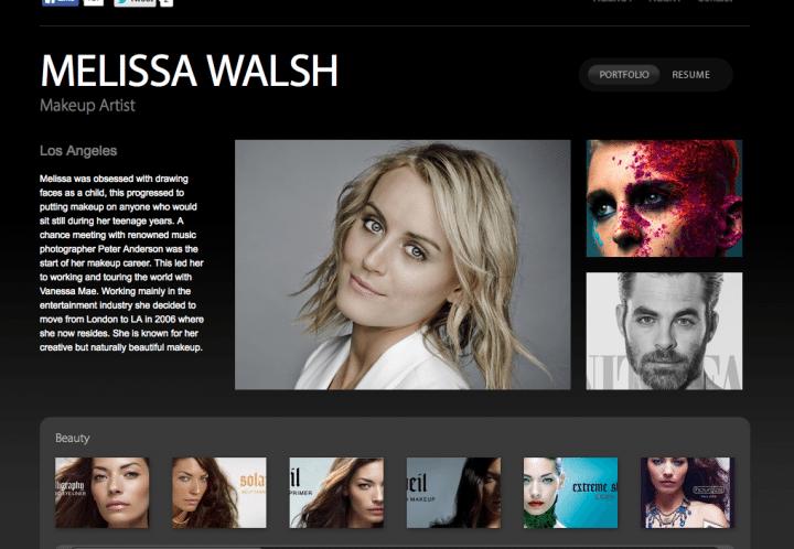 Professional makeup artist Melissa Walsh considers Bel Mondo masks a must have red carpet treatment