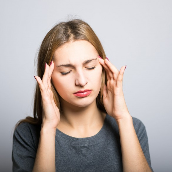 How does stress affect skin?