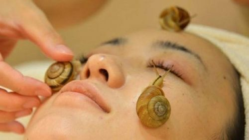 A snail facial? Really?