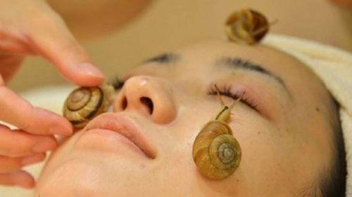 A snail facial? Really?