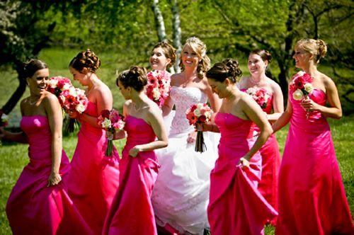 Here come the June Brides
