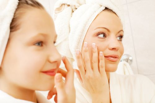 Teach kids the importance of skin care