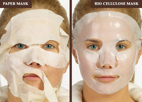 Beauty Facial Masks: Paper Masks versus Bio Cellulose Masks